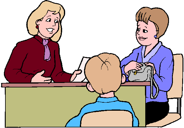 clipart of teacher and parents - photo #18